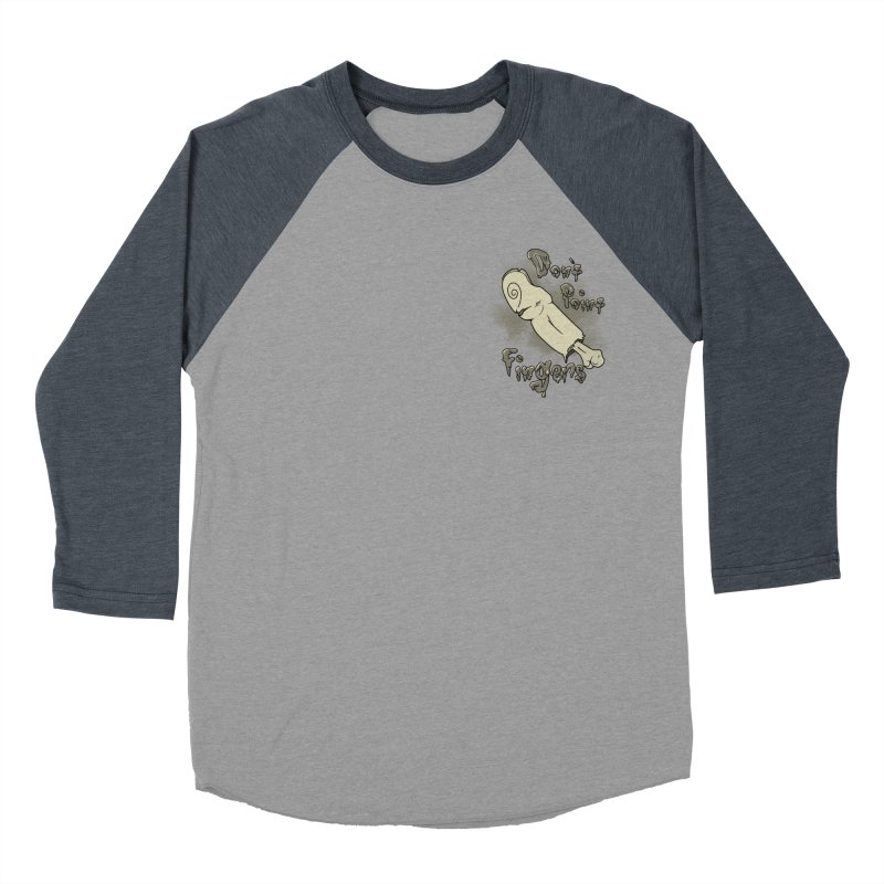 Don't Point Fingers!!! in classic pocket version Men's Baseball Triblend T-Shirt by Calahorra Artist Shop