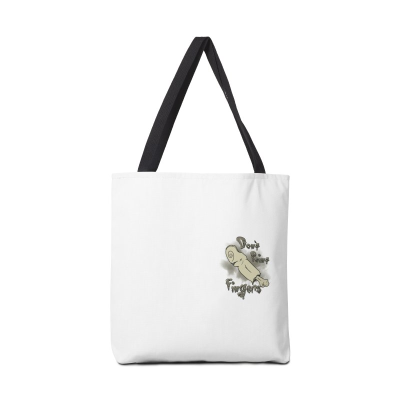 Don't Point Fingers!!! in classic pocket version Accessories Tote Bag Bag by Calahorra Artist Shop