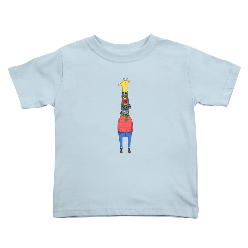 Scarf Lover Kids Toddler T-Shirt by Calvinwu's Artist Shop