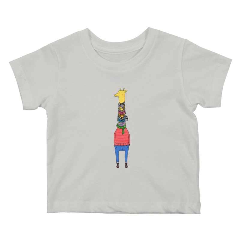 Scarf Lover Kids Baby T-Shirt by Calvinwu's Artist Shop