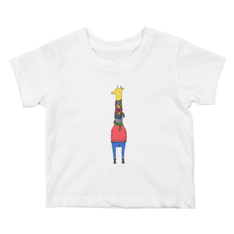 Scarf Lover Kids Baby T-Shirt by Calvinwu's Artist Shop