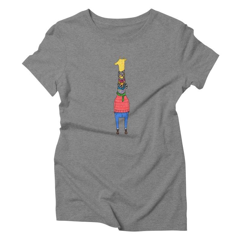 Scarf Lover Women's Triblend T-shirt by Calvinwu's Artist Shop
