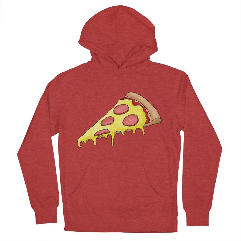 Pizza Men's Pullover Hoody by Camilla Barnard's Artist Shop