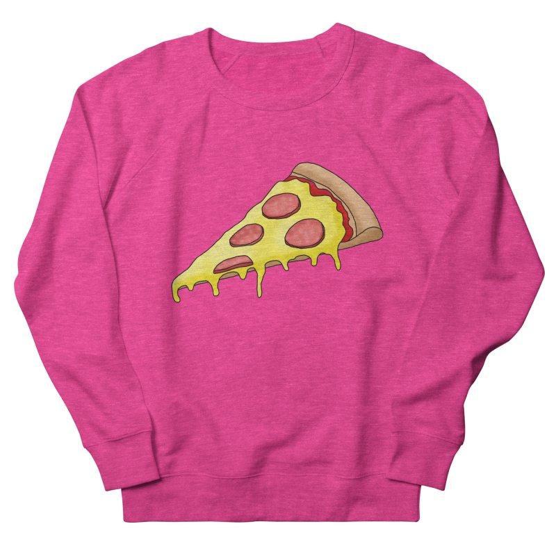 Pizza Men's Sweatshirt by Camilla Barnard's Artist Shop