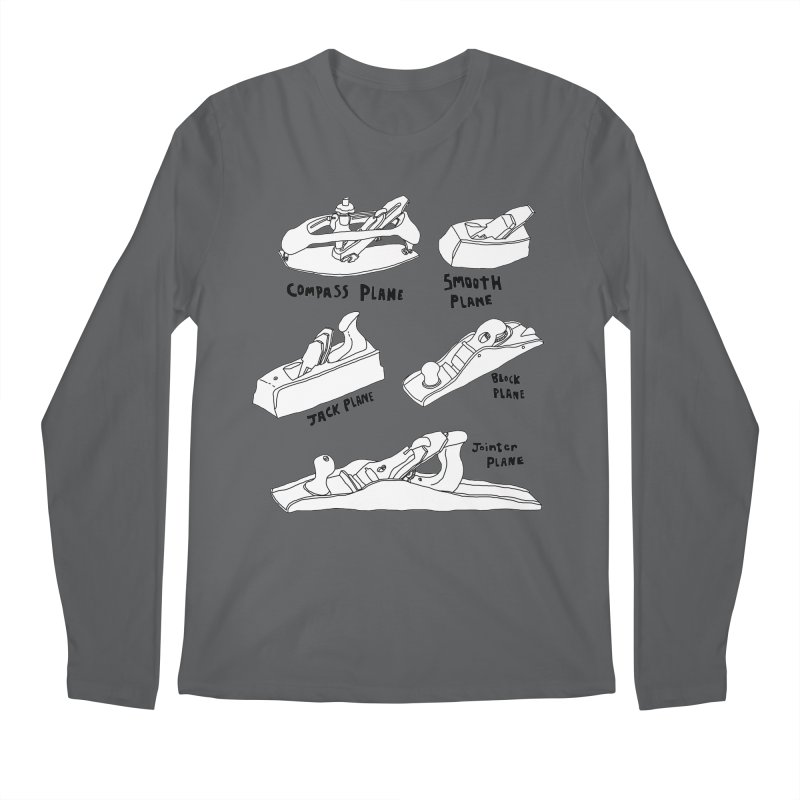 Plane Men's Longsleeve T-Shirt by Camilla Barnard's Artist Shop