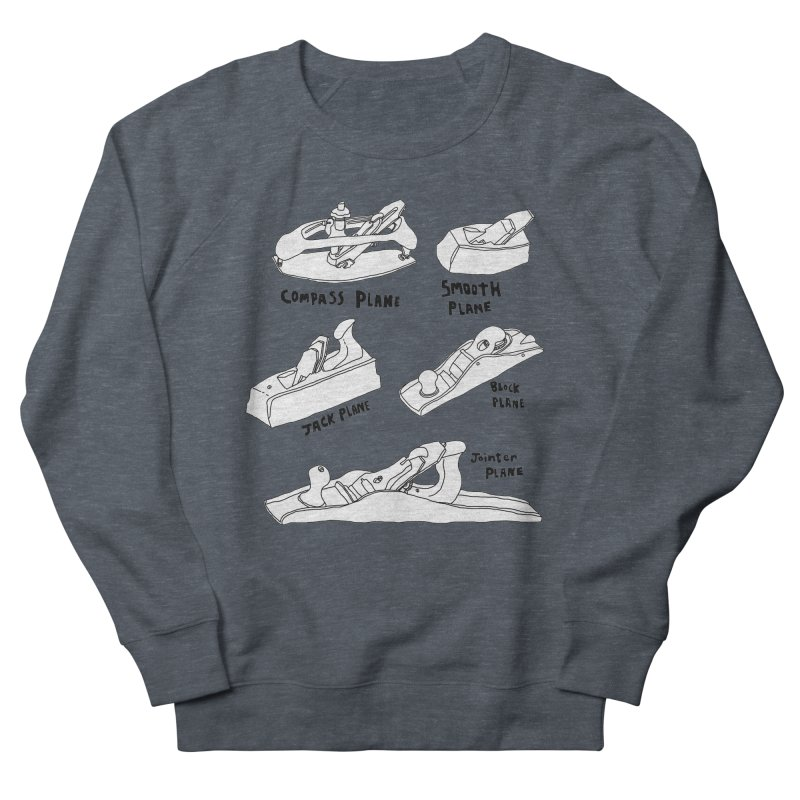 Plane Men's Sweatshirt by Camilla Barnard's Artist Shop