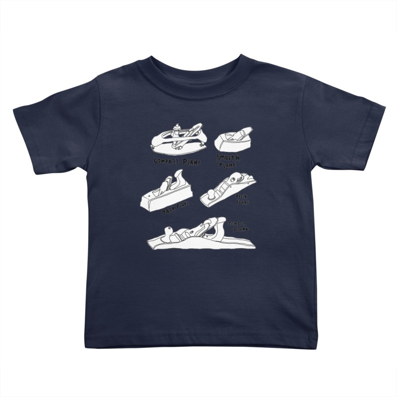Plane Kids Toddler T-Shirt by Camilla Barnard's Artist Shop