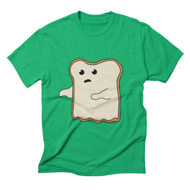 Ghost of A Toast  Men's Triblend T-Shirt by Camilla Barnard's Artist Shop