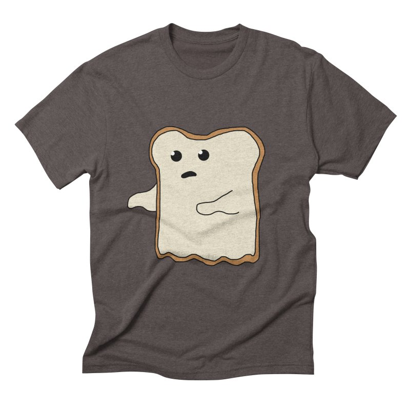 Ghost of A Toast  Men's Triblend T-shirt by Camilla Barnard's Artist Shop
