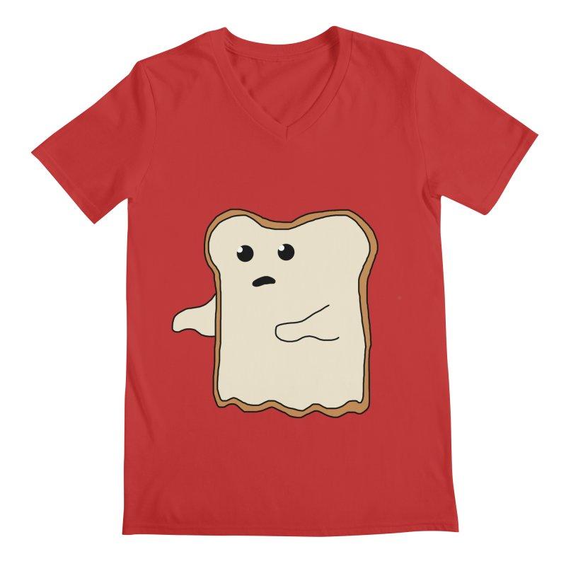 Ghost of A Toast  Men's V-Neck by Camilla Barnard's Artist Shop