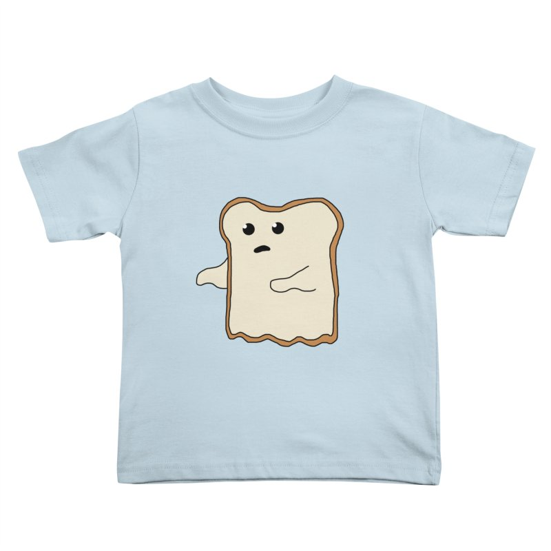 Ghost of A Toast  Kids Toddler T-Shirt by Camilla Barnard's Artist Shop