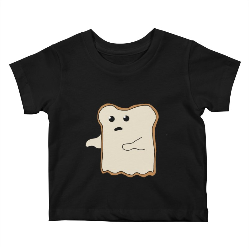Ghost of A Toast  Kids Baby T-Shirt by Camilla Barnard's Artist Shop