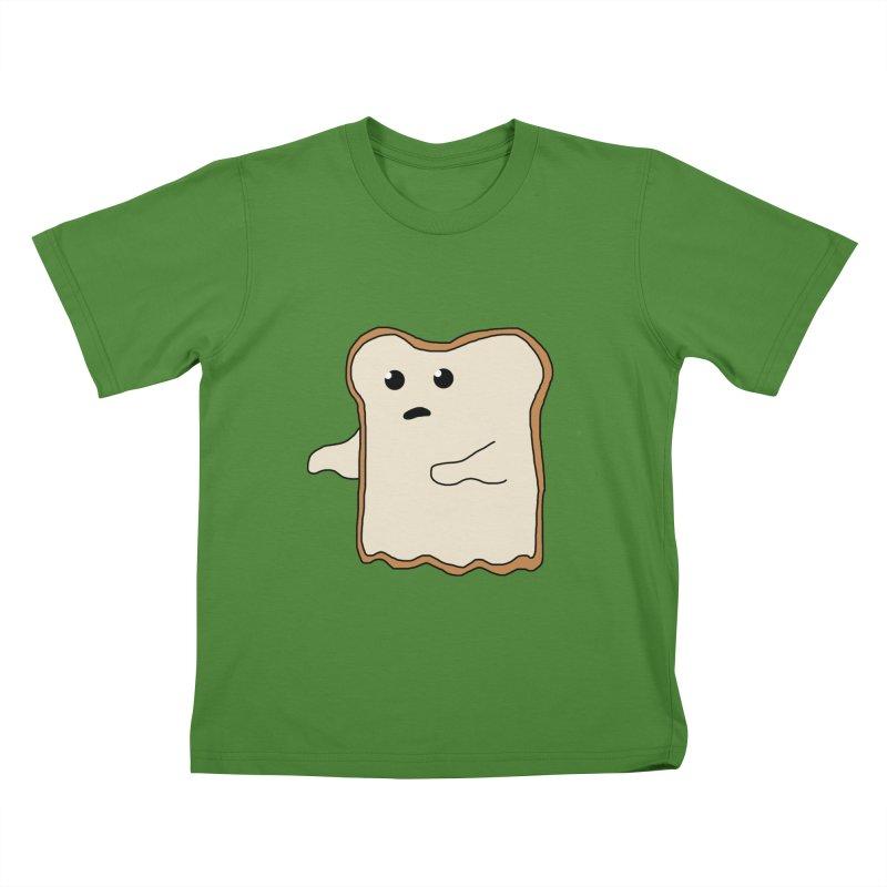 Ghost of A Toast  Kids T-Shirt by Camilla Barnard's Artist Shop