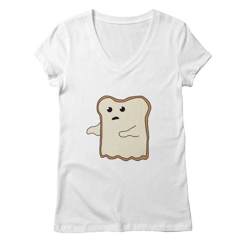 Ghost of A Toast  Women's V-Neck by Camilla Barnard's Artist Shop