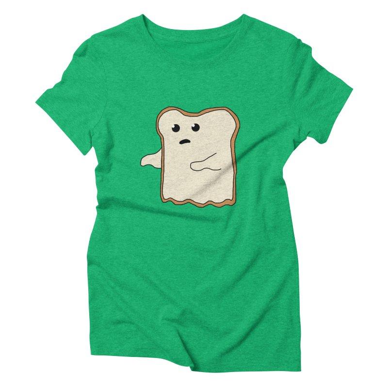 Ghost of A Toast  Women's Triblend T-Shirt by Camilla Barnard's Artist Shop