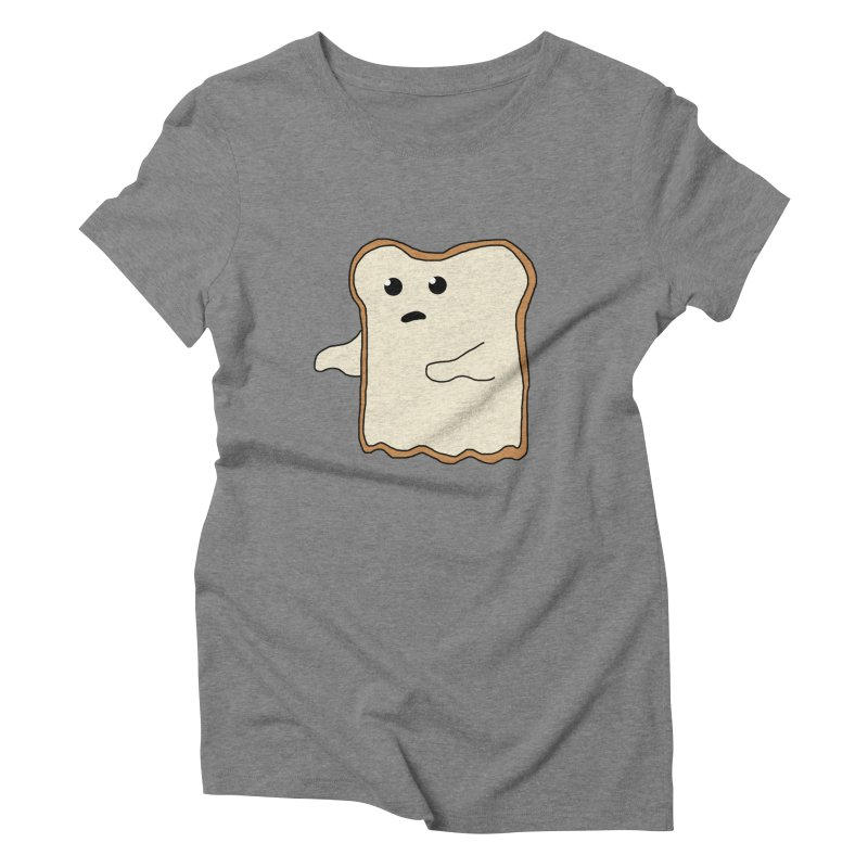 Ghost of A Toast  Women's Triblend T-shirt by Camilla Barnard's Artist Shop