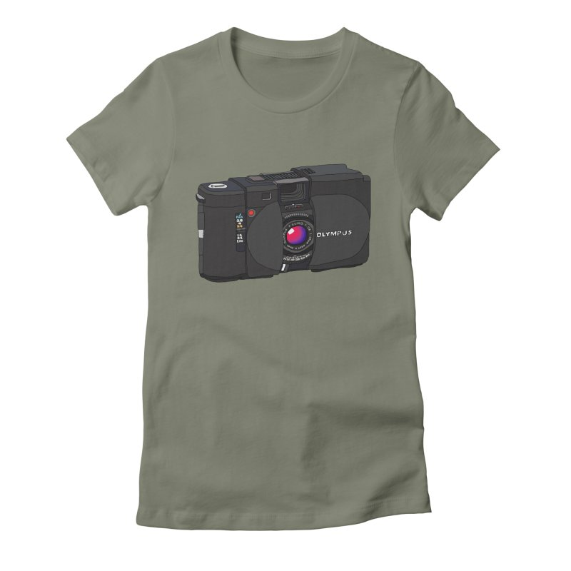 Oh Snap! Women's Fitted T-Shirt by Camilla Barnard's Artist Shop