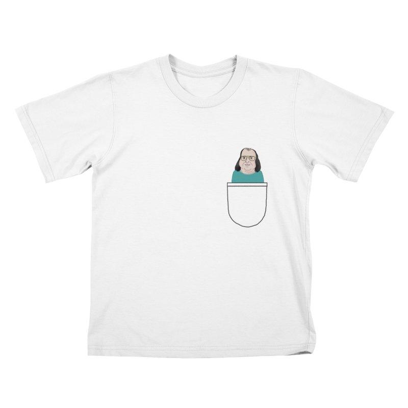 Ainsley Flashback in you pocket Kids T-Shirt by Camilla Barnard's Artist Shop