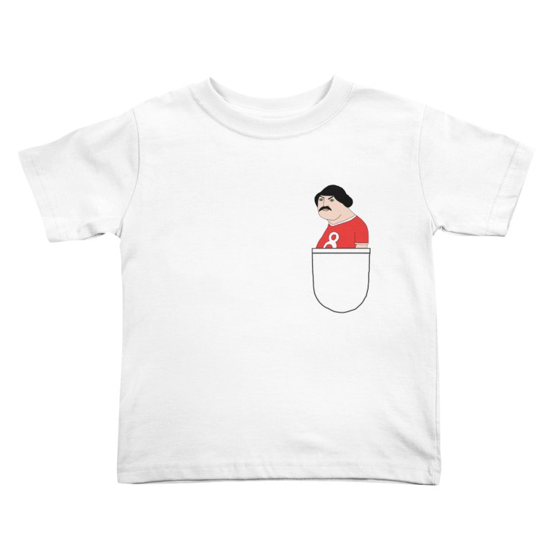 Romeo Codpiece in your pocket Kids Toddler T-Shirt by Camilla Barnard's Artist Shop
