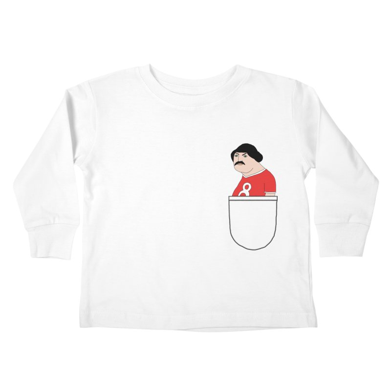Romeo Codpiece in your pocket Kids Toddler Longsleeve T-Shirt by Camilla Barnard's Artist Shop