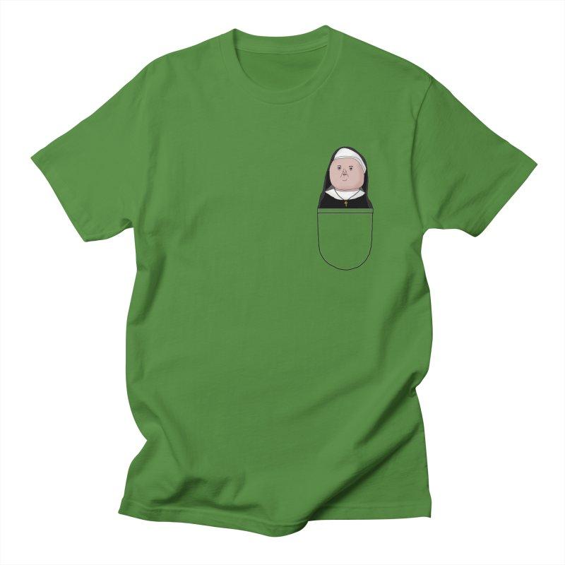Nun of your business Men's T-shirt by Camilla Barnard's Artist Shop