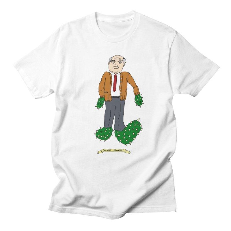 Donny Plumper Men's T-Shirt by Camilla Barnard's Artist Shop