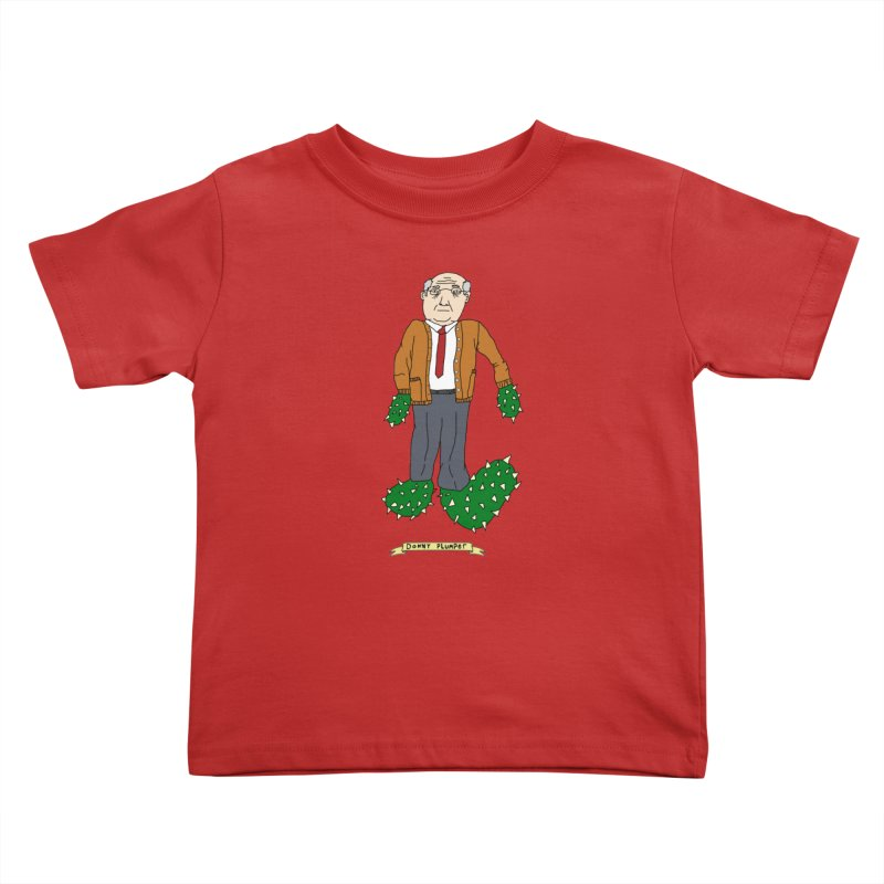 Donny Plumper Kids Toddler T-Shirt by Camilla Barnard's Artist Shop