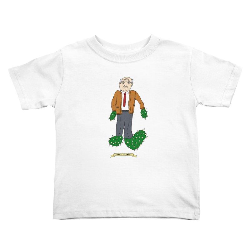 Donny Plumper Kids Toddler T-Shirt by Camilla Barnard's Artist Shop