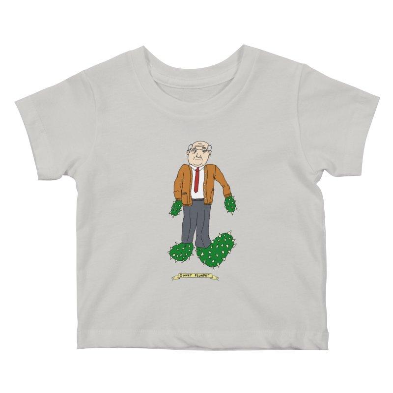 Donny Plumper Kids Baby T-Shirt by Camilla Barnard's Artist Shop