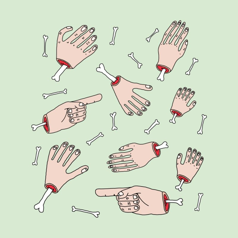 Need A Hand? by Camilla Barnard's Artist Shop