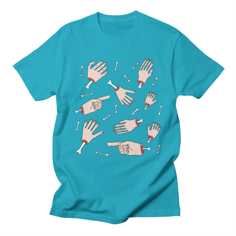 Need A Hand? Men's T-shirt by Camilla Barnard's Artist Shop