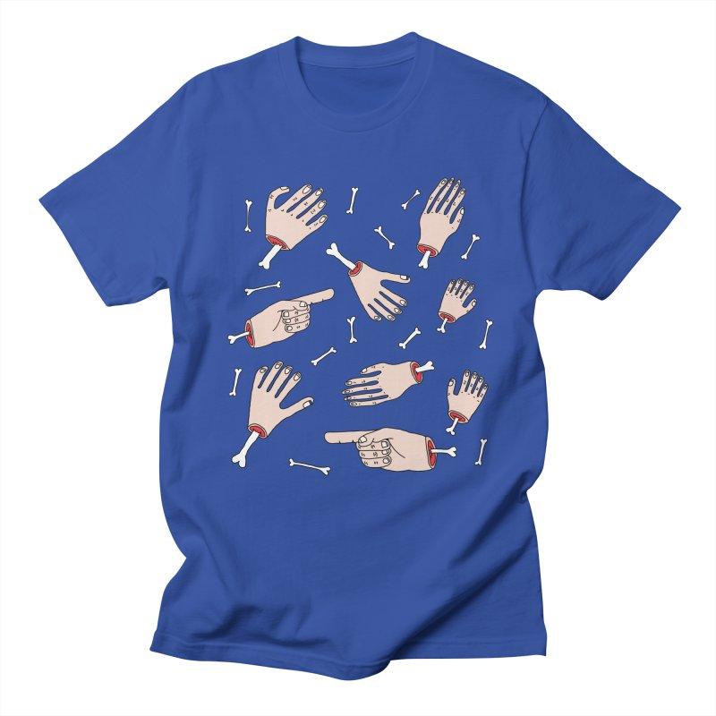 Need A Hand? Men's T-shirt by Camilla Barnard's Artist Shop