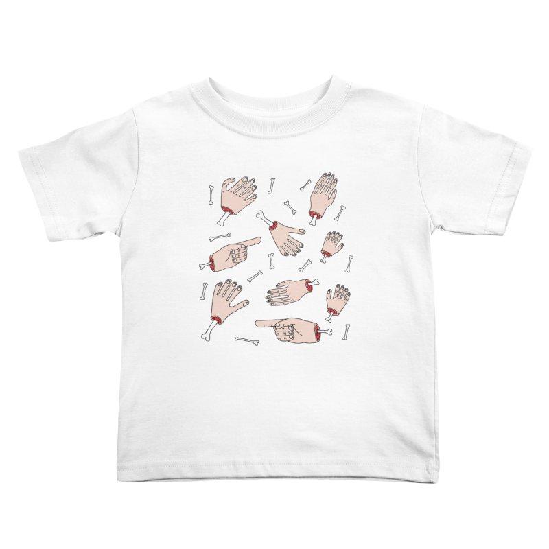 Need A Hand? Kids Toddler T-Shirt by Camilla Barnard's Artist Shop