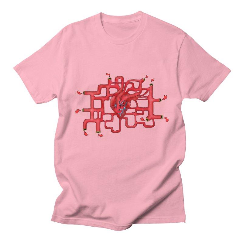 Get your heart pumpin' Men's T-shirt by Camilla Barnard's Artist Shop