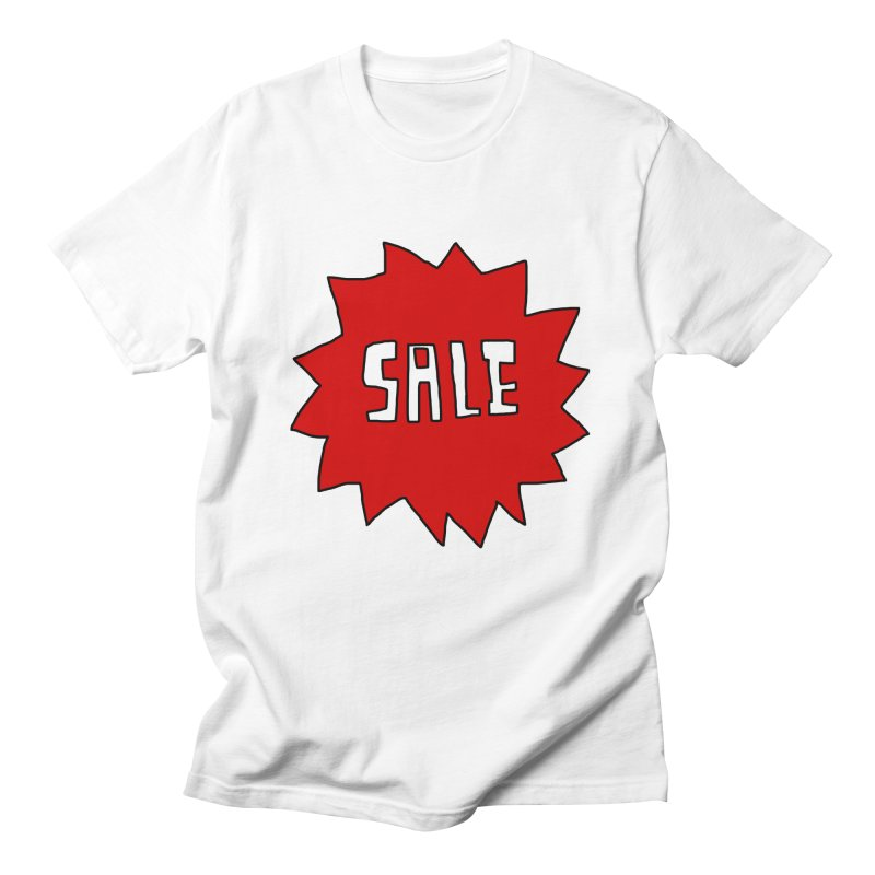 Shit Sale - Optical Illusion Tee Men's T-shirt by Camilla Barnard's Artist Shop