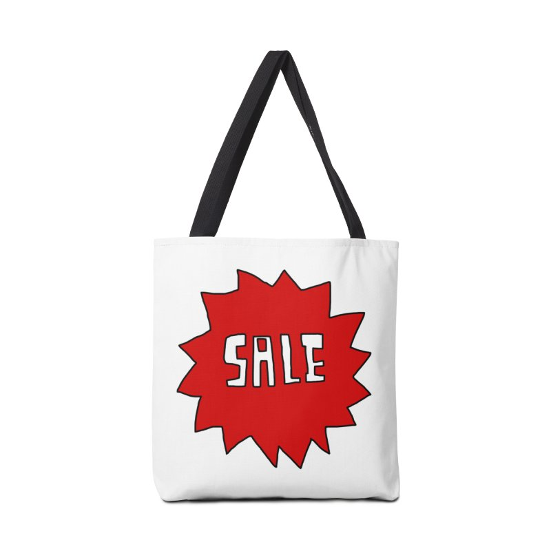 Shit Sale - Optical Illusion Tee Accessories Bag by Camilla Barnard's Artist Shop