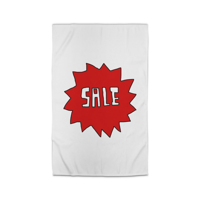 Shit Sale - Optical Illusion Tee Home Rug by Camilla Barnard's Artist Shop