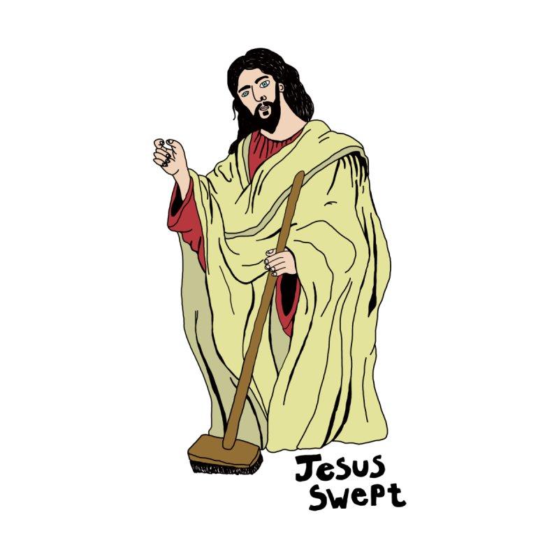 Jesus Swept Men's T-Shirt by Camilla Barnard's Artist Shop