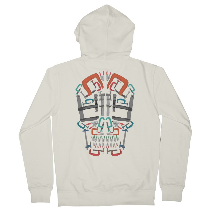 Don't clamp my style - Skull  Women's Zip-Up Hoody by Camilla Barnard's Artist Shop