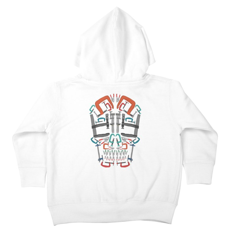 Don't clamp my style - Skull  Kids Toddler Zip-Up Hoody by Camilla Barnard's Artist Shop