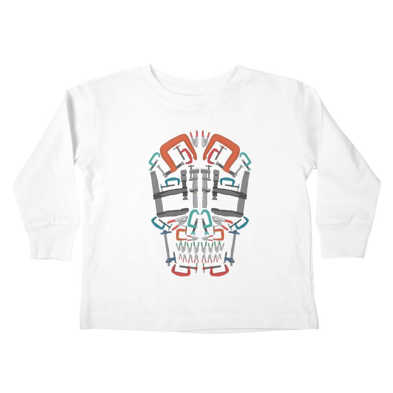 Don't clamp my style - Skull  Kids Toddler Longsleeve T-Shirt by Camilla Barnard's Artist Shop
