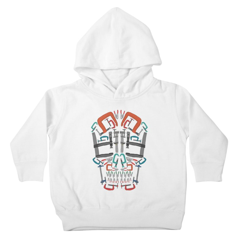 Don't clamp my style - Skull  Kids Toddler Pullover Hoody by Camilla Barnard's Artist Shop