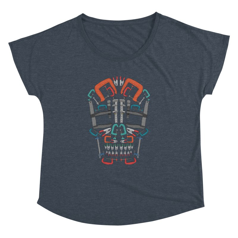 Don't clamp my style - Skull  Women's Dolman by Camilla Barnard's Artist Shop
