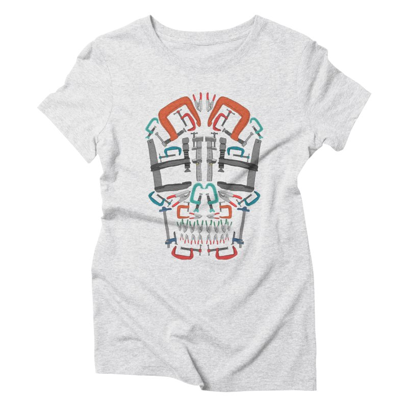 Don't clamp my style - Skull  Women's Triblend T-shirt by Camilla Barnard's Artist Shop