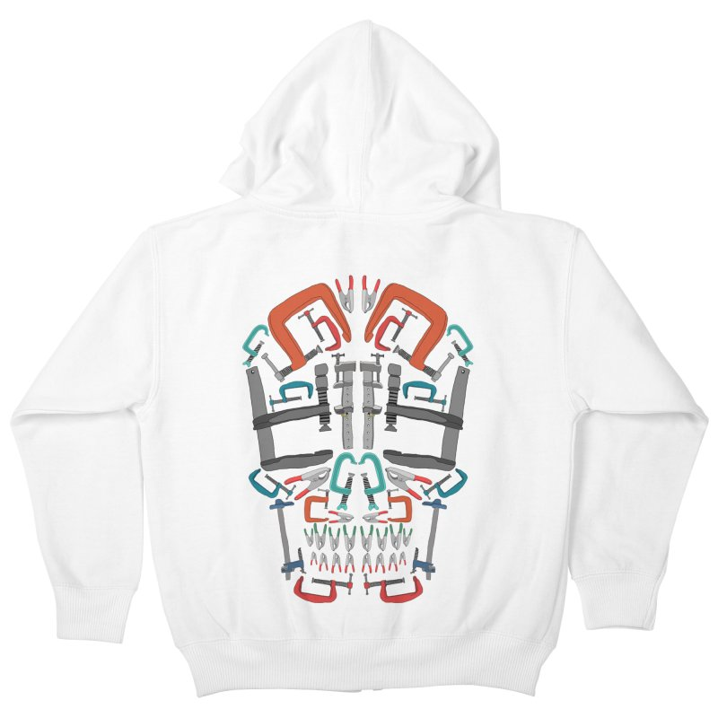 Don't clamp my style - Skull  Kids Zip-Up Hoody by Camilla Barnard's Artist Shop
