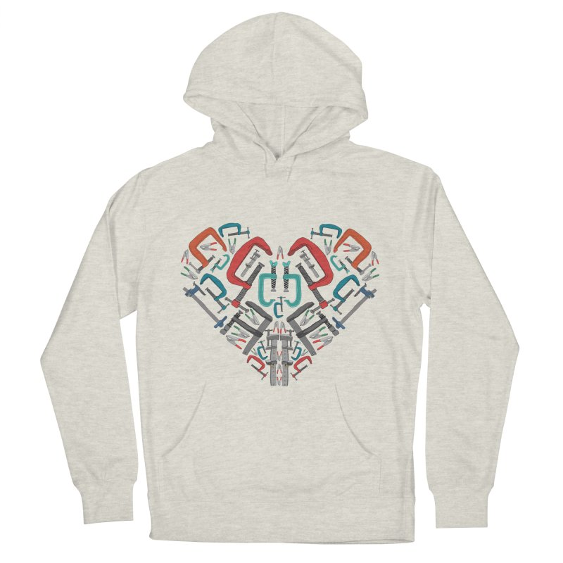 Don't clamp my style - Heart Women's Pullover Hoody by Camilla Barnard's Artist Shop