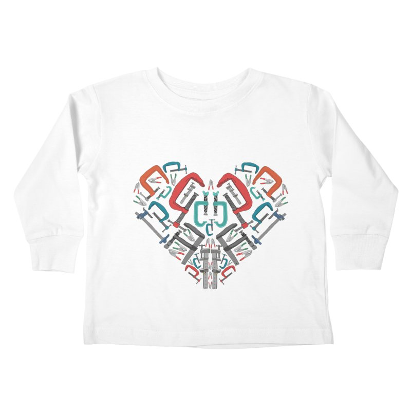 Don't clamp my style - Heart Kids Toddler Longsleeve T-Shirt by Camilla Barnard's Artist Shop