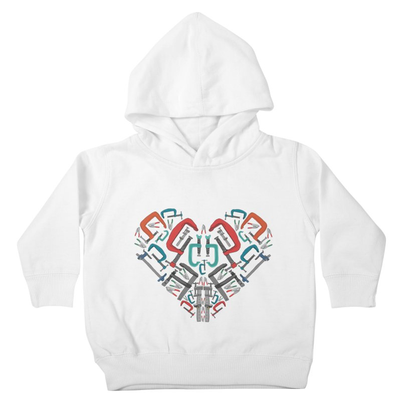 Don't clamp my style - Heart Kids Toddler Pullover Hoody by Camilla Barnard's Artist Shop