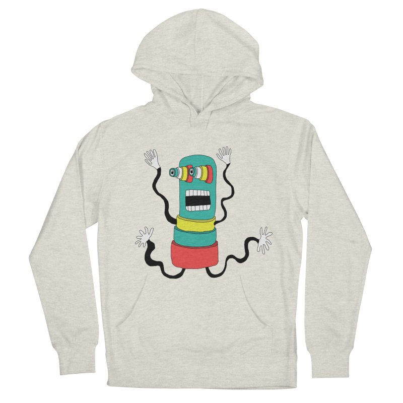 Sir Wiggleworth  Men's Pullover Hoody by Camilla Barnard's Artist Shop