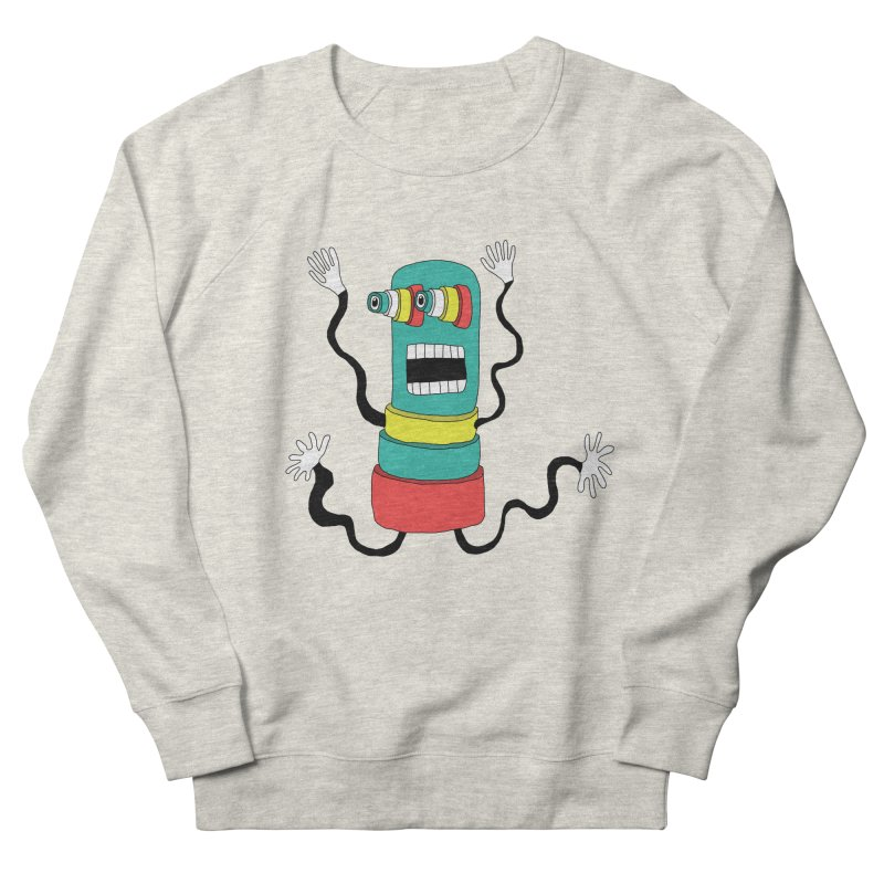 Sir Wiggleworth  Women's Sweatshirt by Camilla Barnard's Artist Shop